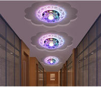 2016 Kathy Creative Aisle Lights Corridor Lamp LED Crystal Lamp Porch Lamp Lights Home Ceiling Lamps