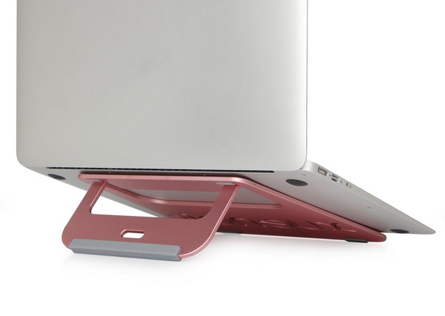 Universal Soporte De Metal para el Ordenador Portátil De Aluminio Del Soporte para Portátil para la Tableta para el Libro Multifunción Buena disipación de calor
