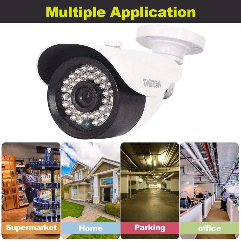 TMEZON 1/2.9 2.0 Megapixel 1080P HD CVI Bullet Security Camera Outdoor 3.6mm Lens 36 IR Leds HD-CVI MUST work with CVI DVR hd cvi security bullet camera cvi 720p 1 0mp 2 array ir leds 6mm lens
