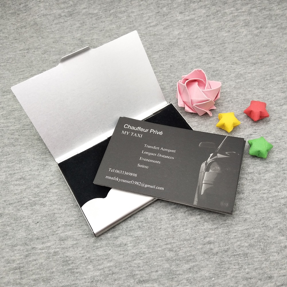 Super cheap business name cards for boss and sales managers 350gsm high quality full color printing cards custom with any size in Business Cards from Office School Supplies