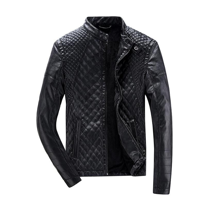 2016 Black En De Moto Marque Vestes Hommes 9050 Manteau Hiver Slim Cuir Veste Nouvelle Jeunes Automne rw4qZSztHr