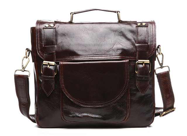 2017 real leather man bag man's first layer of leather hand bill of lading, shoulder bag,  size: 30x26x7cm.pinepoxp bag,
