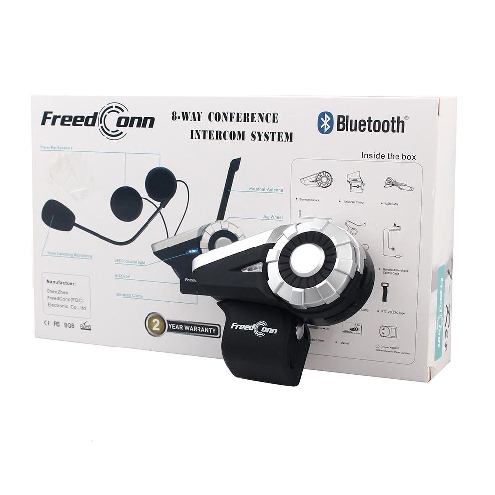 Freedconn T-Rex 1500M 8-way BT ինտերֆեյս FM ռադիո - Պարագաներ եւ պահեստամասերի համար մոտոցիկլետների - Լուսանկար 5