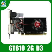 Veineda дисплей vga карты ddr3 810/1200 mhz для nvidia geforce gt610 2 ГБ игры pc