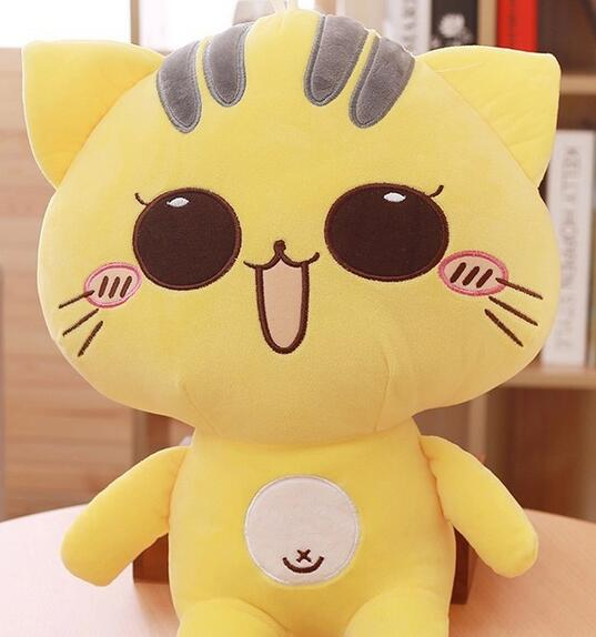 ФОТО 50cm Cute kitty doll cat plush toys 3kinds birthday Christmas gift stuffed animal doll free shopping