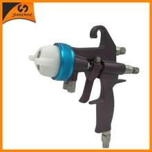 Nano Chrome Plating Paint Gun Double Nozzle 1.3 mm Spray Gun SAT1202 все цены