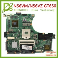 KEFU N56VM For ASUS N56VM N56V N56VV N56VZ N56VB N56 mainboard GT650 2GB video memory support I7 original Test 100% work