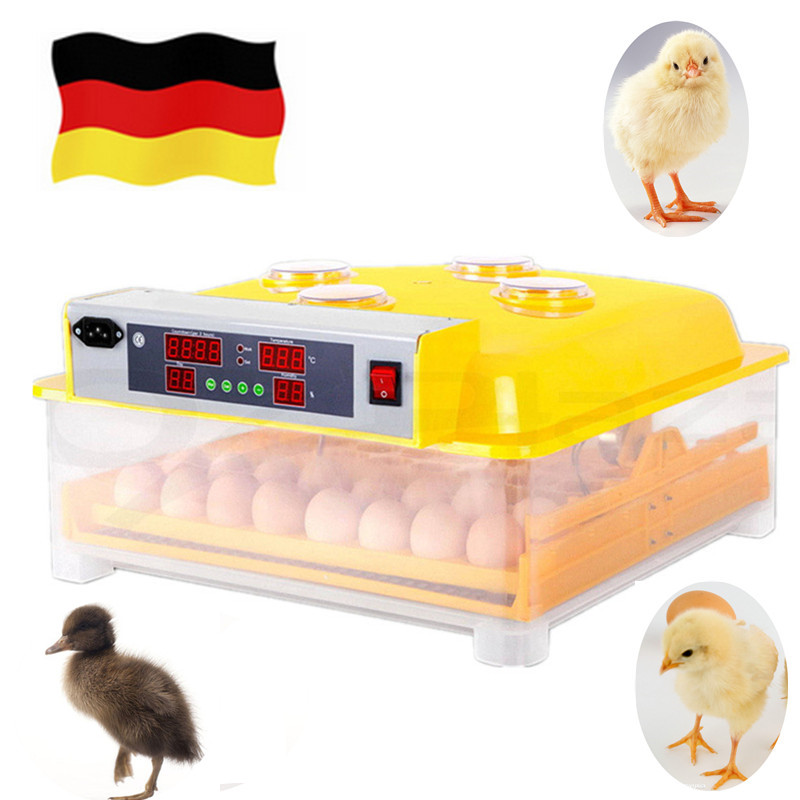 Mini Full-Automatic ventilation control Egg Incubator Turning 48 Eggs Poultry Chicken Duck Bird Hatcher small egg incubator chicken egg incubator hatcher 48 automatic mini parrot egg incubators hatcher hatching machines