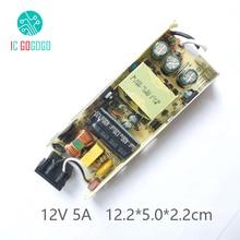 Módulo del interruptor de la fuente de alimentación AC DC, 5000MA, 12V, 5A, placa de circuito para Monitor LCD Acbel, 100 240V, 50/60HZ, SMPS