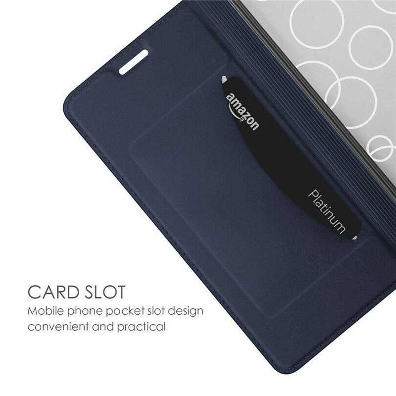 Voltage PU cuero Flip Wallet funda para Xiaomi mi 9 8 Lite Max3 F1 A1 A2 ranuras para tarjetas funda de soporte para Red mi Note 7 6 5 Pro 4 5A 6A