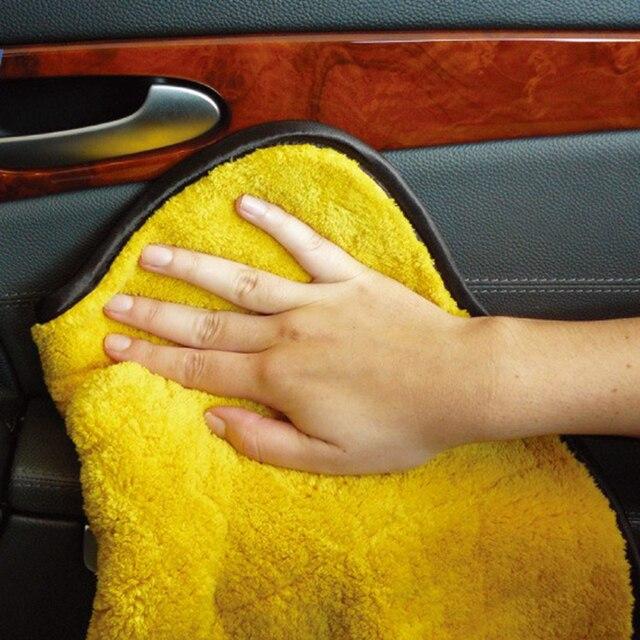 Nieuwe Auto Wassen Handdoek Duurzaam Super Dikke Pluche Microfiber