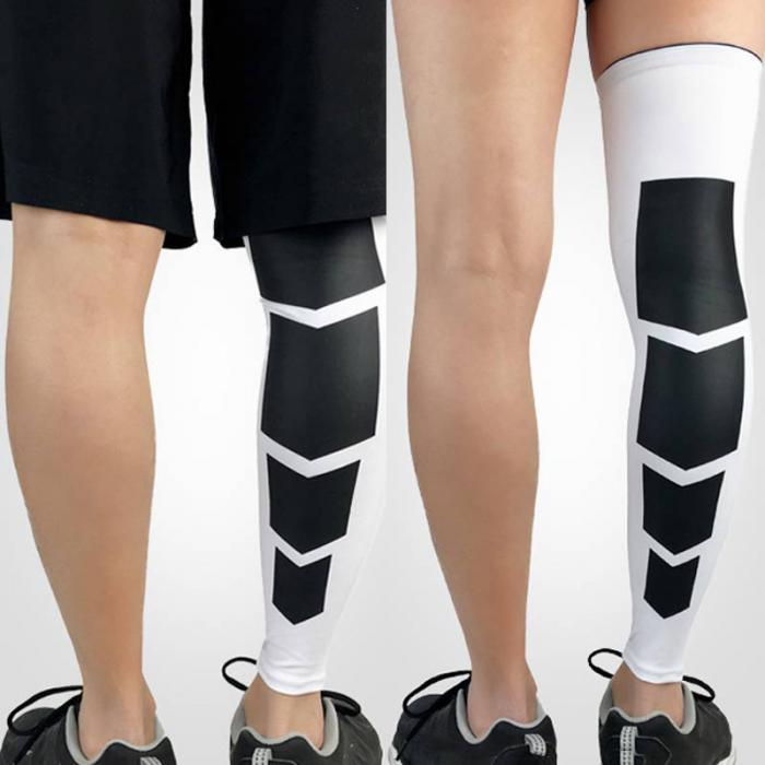 b1264dd382 2 Pcs Recovery Compression Leg Sleeve Sport Football Basketball Strech  Knees Long Support Pads B2Cshop. Features: Faster recovery after  exercise/fatigue.