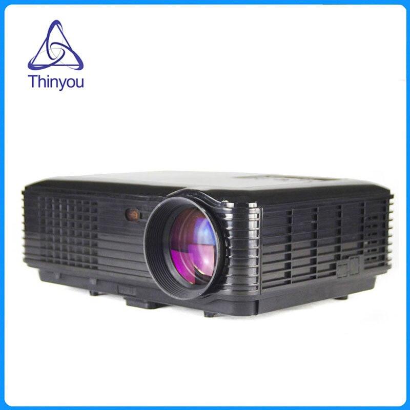 Thinyou Original Portátil Multimedia Full HD LED TV Video Proyector de Cine En C