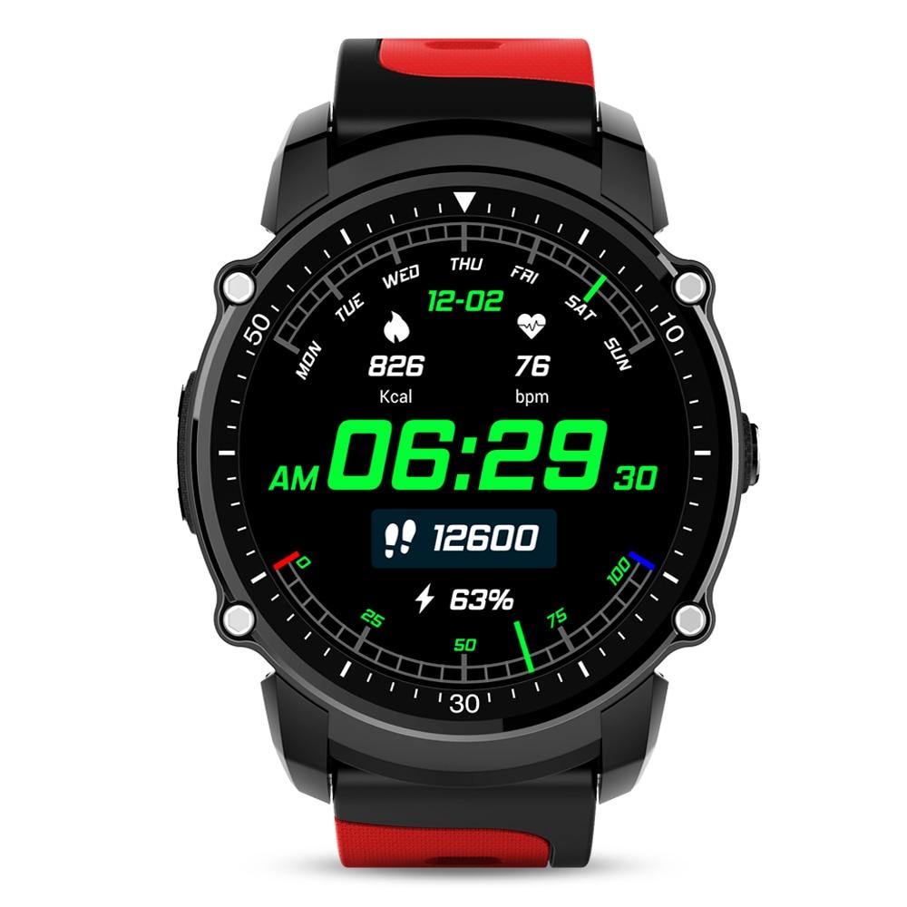 GPS Montre Intelligente MTK2503 Montre de Sport IP68 Étanche Smartwatch Bluetooth Fréquence Cardiaque Tracker multi-mode pour IOS Android