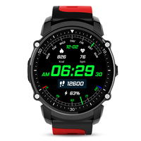 GPS Smart Watch MTK2503 Sport Watch IP68 Waterproof Bluetooth Smartwatch Heart Rate Fitness Tracker Multi mode for IOS Android