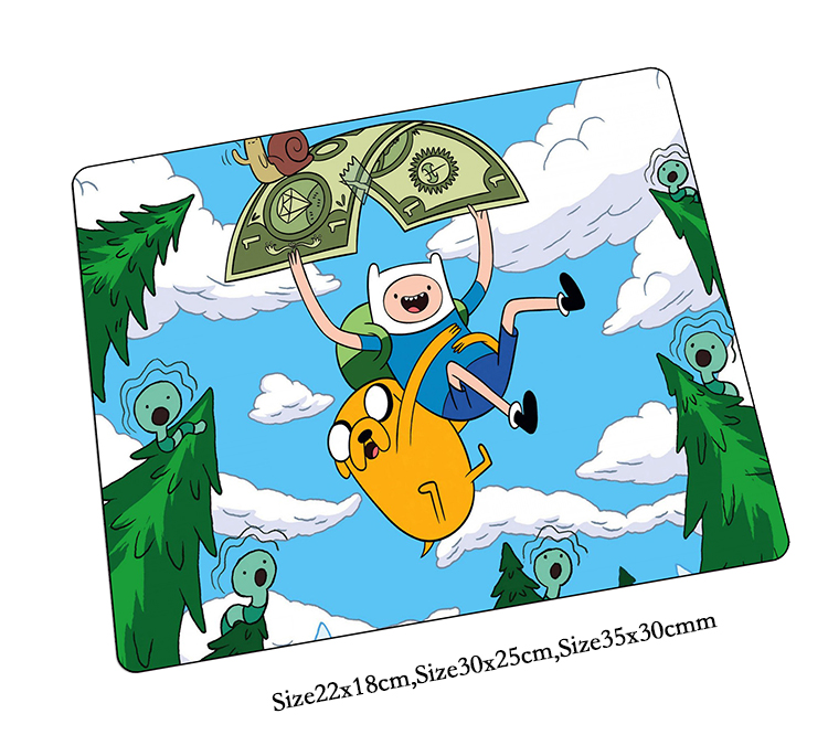 Adventure Time mouse pad Fashion pad to mouse notbook computer mousepad HD pattern gaming padmouse gamer to laptop mouse mats
