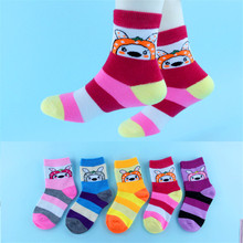 5 Pairs/lot  2019 New Summer Boys Girls Kids Socks Set 1-12Y Children Thin Short Cotton Comfortable Child