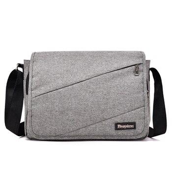 db0ebbbba4d1 Новая мужская сумка-мессенджер, Высококачественная сумка на плечо для  женщин, деловая дорожная сумка через плечо, мягкая ручка, сумка из пол.