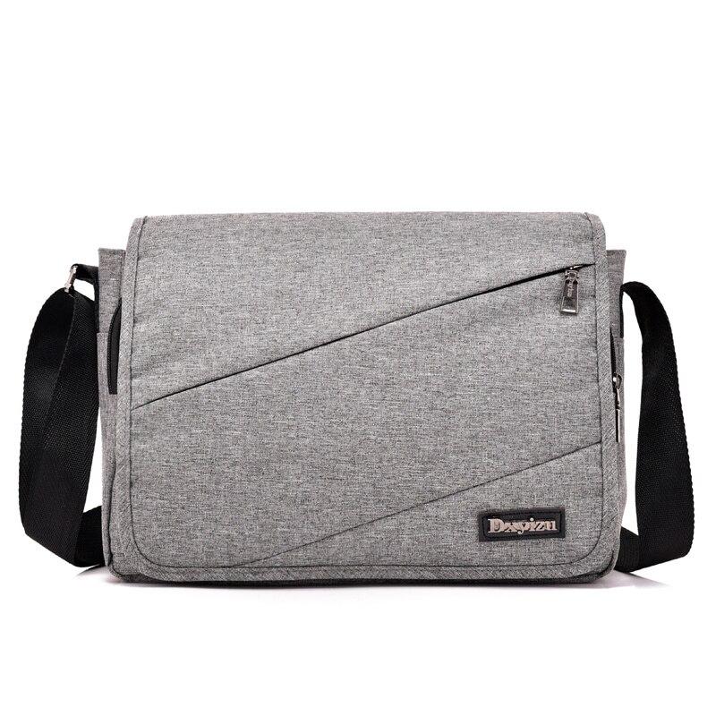 72cb8a69f3f1 Купить Новая мужская сумка мессенджер высокого качества сумка на плечо для  женщин деловая дорожная сумка через плечо мягкая ручка полиэстер сумка.
