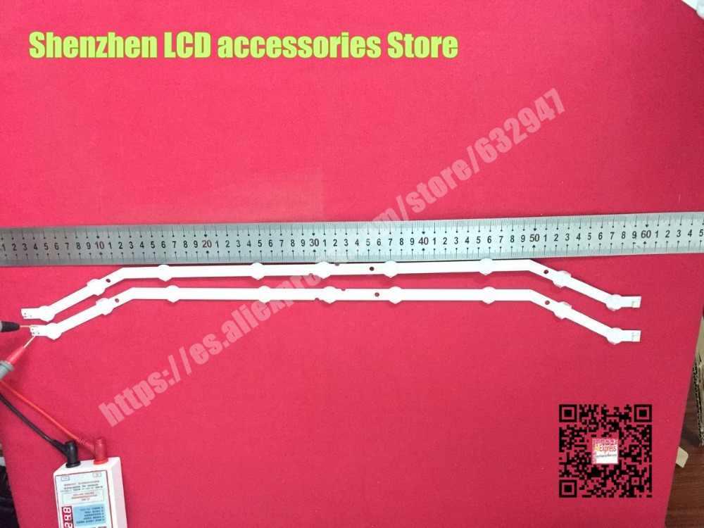 """4 stuk/partij 9LED Backlight strip Voor Samsung 32 """"TV 2013svs32_3228N1_B2_09 Barra 9-LED Strip D3GE-320SM0-R2 UE32EH4003WX"""
