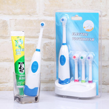 New Electric Toothbrush Waterproof Revolving toothbrush + 3 Nozzles Set Oral Hygiene Dental Care escova eletrica