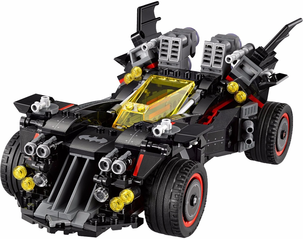 In Stock  LEPIN 07077 The Ultimate Batmobile Bat Man Block Toys Compatible Batman Movie 70917 2017 lepin 07045 batman movie batmobile features robin man bat kabuki building block toys compatible with legoe batman 70905