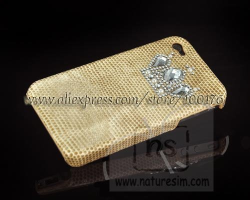 For iPhone 4G Rhinestone Case