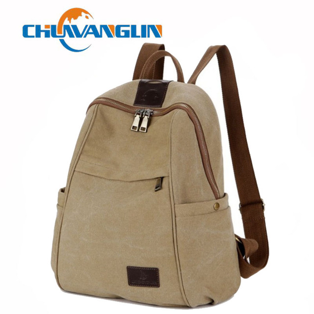 1dfe4cf625 Chuwanglin canvas backpack women casual school bags for teenage girls  fashion mochila feminina laptop bags travel bag A2134