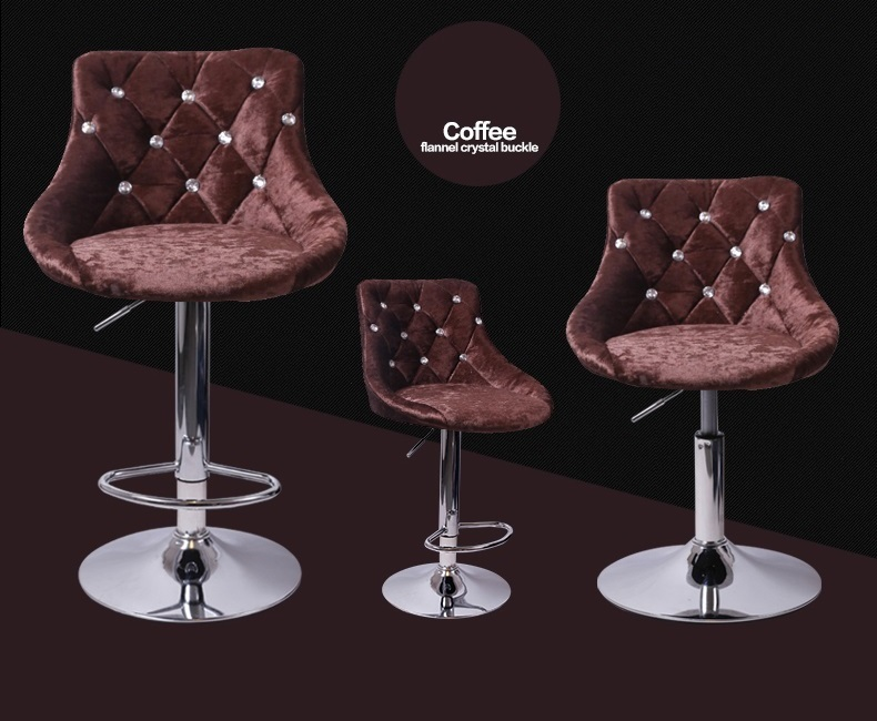 coffee color hair shop bar pubic house lift 60 to cm chair free shipping new chair stool design bar chair antique color ktv stool free shipping brown blue dark green color public house stool
