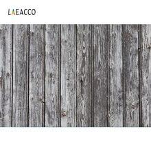 Laeacco Dark Planks Texture Wooden Board Cake Smash Child Portrait Photo Backgrounds Photographic Backdrop Photocall Photo Shoot