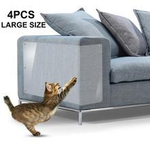 Мебель защита от царапин Кот Диванный чехол охранники с булавками для защиты мягкой мебели кошка царапины устраняющая накладка