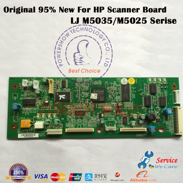 US $46 5 |Original 95% New Scanner Control Board OEM#: Q7829 60183 Q7829  60165 For HP M5025 M5035 5035MFP 5035MFP HP5025 Series-in Printer Parts  from
