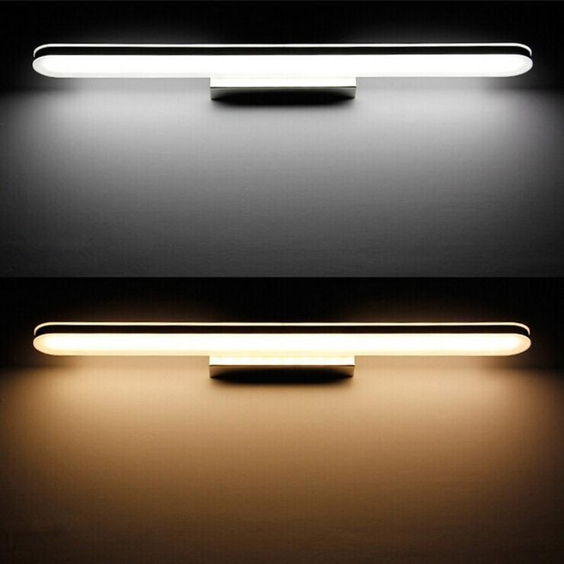 ФОТО Minimalist 40cm Bathroom Light Fixtures Led 8W Waterproof Bath Wall Sconces Light Mirror Wall Lights For Home Decoration Wall