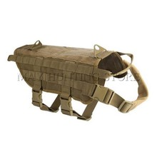 Outdoor Military Tactical Patrol Dog Training Harness Law Enforcement Dog Molle Vest Hunting Airsoftsports Gear(China)