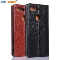 For ZTE Nubia Z17S Case Flip Genuine Leather Soft Silicon Back Cover For ZTE Nubia Z17