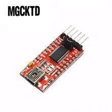 100% buena calidad. 10 Uds FT232RL FT232 FTDI USB 3,3 V 5,5 V a TTL Módulo adaptador a serie para DIY