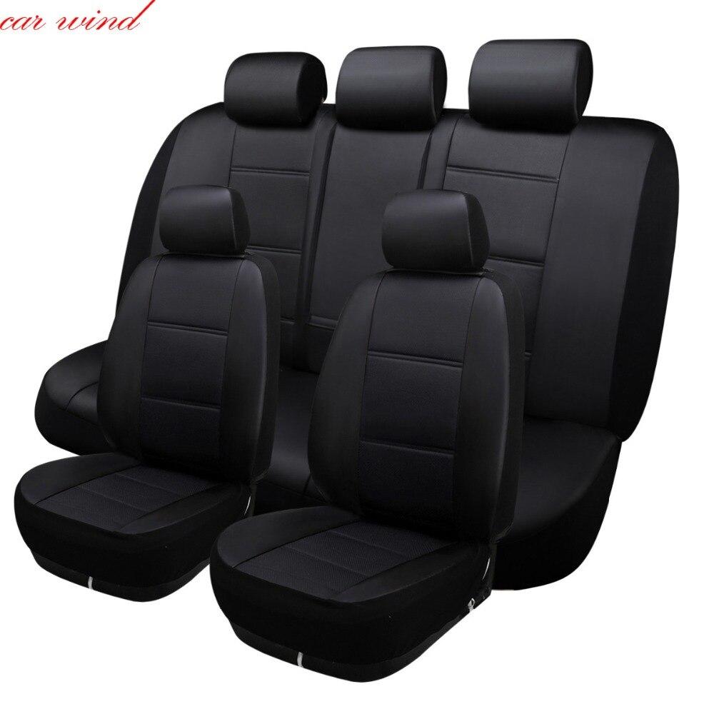 Vent de voiture universel Auto housse de siège de voiture pour seat ibiza leon 2 fr altea ateca accessoires de voiture style de voiture protecteur de siège style