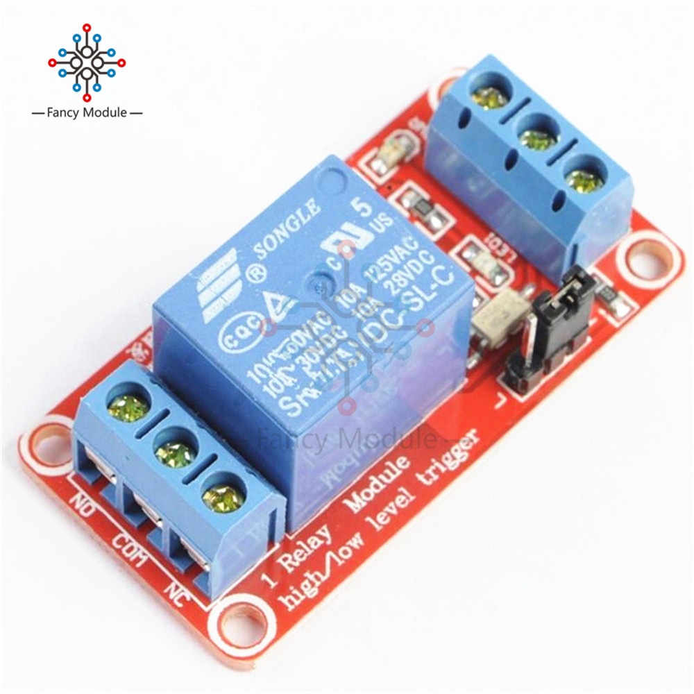 One 1 Channel 12V Relay Module Board Shield With Optocoupler Support High And Low Level Trigger Power Supply Module For Arduino