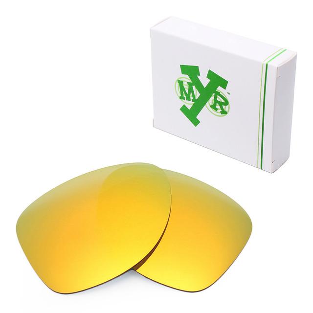 MRY POLARIZADA 2 Óculos De Sol De Lentes de Reposição para óculos Oakley Expedição Fogo Vermelho