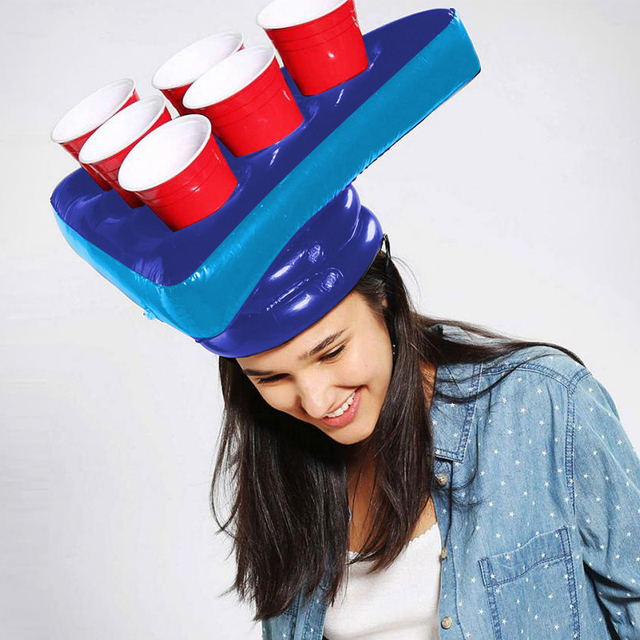 Beer-pong hat 2