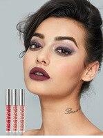Matte Lipgloss Long Lasting 24 Hours Waterproof Matte Liquid Lipstick Makeup Liquide Mat Lipsticks Lip