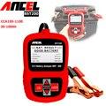 Auto medidor de voltaje de la batería del vehículo 12 v analizador de ancel bst200 coche batería probador de carga