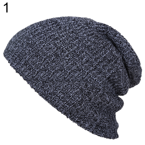 2016 Top Quality Warm Winter Women Men Beanie Hat Oversize Slouchy Baggy Unisex Knit Cap Skull  7F2X 7NFH