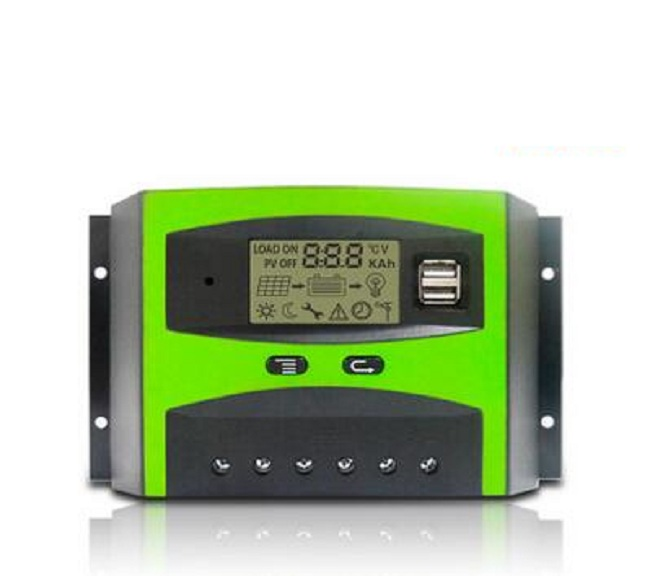 30A 48V High Efficiency Solar Charge Controller with LCD Display for Solar Panel System Home Use 48v 30a intelligent 48v solar charge controller for solar power system solar power controller
