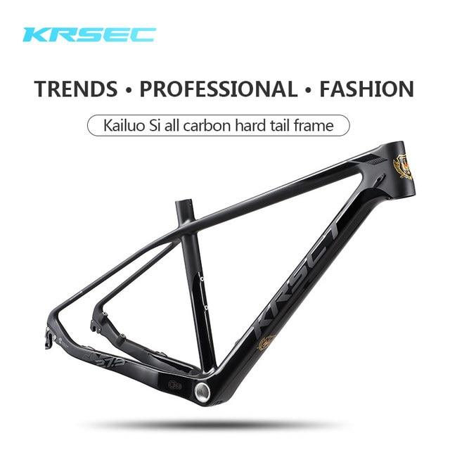KRSEC mountain bike full carbon frame in the frame of MTB XC carbon ...