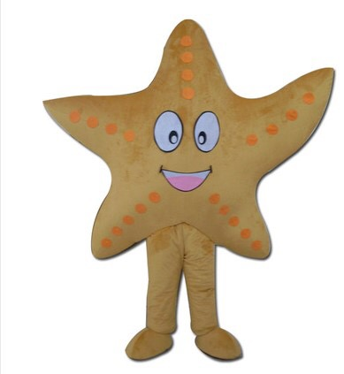 Costume de mascotte étoile de mer dessin animé 2016 nouveauté Costume de déguisement mascotte de bande dessinée 2019New