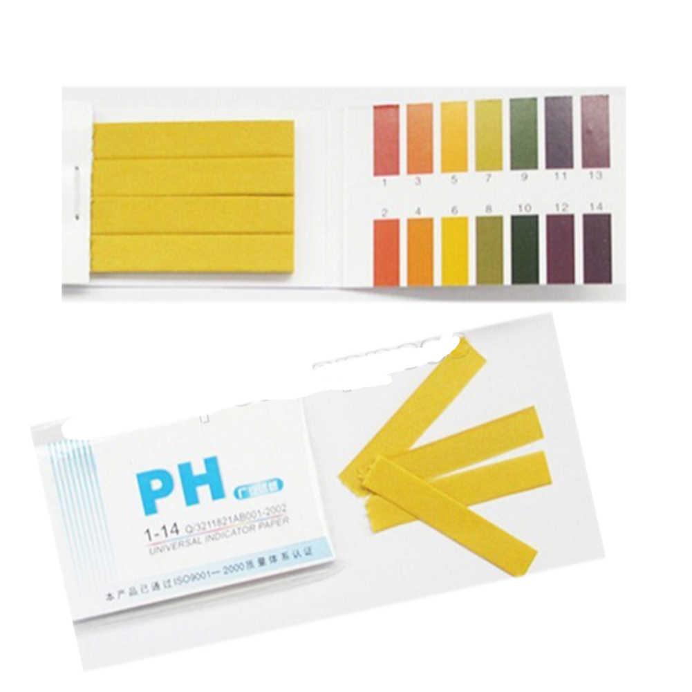 80 ストリップ Ph 試験ストリップ水族館池の水テスト Ph リトマス紙フルレンジアルカリ酸 1-14 テスト紙リトマステスト