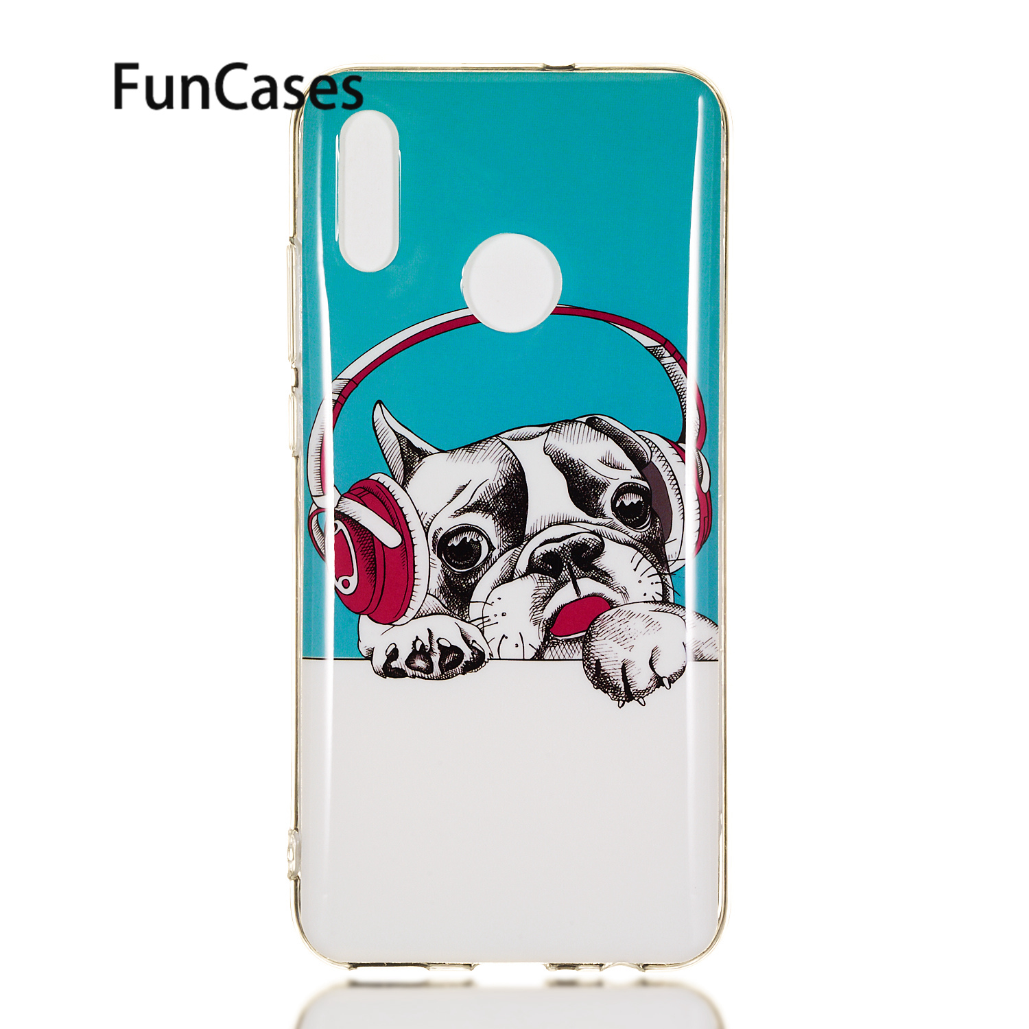 Mobile Phone Case For para Huawei Enjoy 9 Cute Carcasa sFor Huawei Y7 Pro 2019 Honor 10 Lite P30 Y6 Soft Silicone Protector sticker