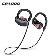CBAOOO K100 bluetooth headphones waterproof wireless bluetooth earphone sports bass headset with mic for phone iPhone xiaomi