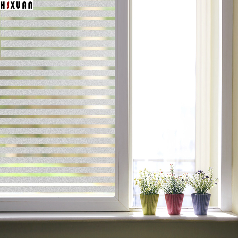 Selfadhesive Decorative Frosted Privacy Window Film Sticker For Coffee Bar Household Decoration Width 80cm